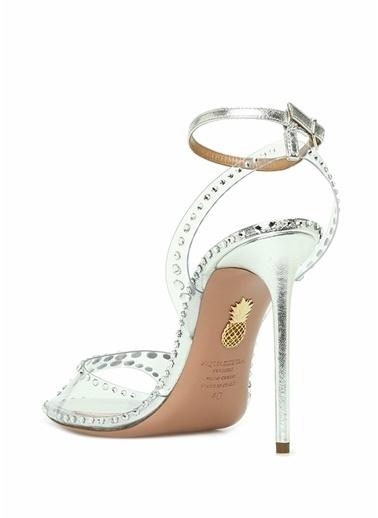Aquazzura Sandalet Gümüş